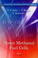 Cover image for Direct methanol fuel cells