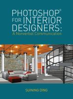 Cover image for Photoshop for interior designers : a nonverbal communication