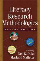 Cover image for Literacy research methodologies