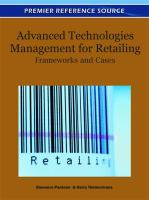 Cover image for Advanced technologies management for retailing : frameworks and cases
