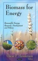 Cover image for Biomass for energy