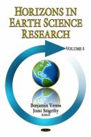 Cover image for Horizons in earth science research
