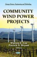 Cover image for Community wind power projects