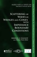 Cover image for Scattering of waves by wedges and cones with impedance boundary conditions