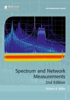 Cover image for Spectrum and Network Measurements