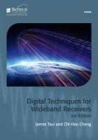 Cover image for Digital techniques for wideband receivers