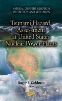 Cover image for Tsunami hazard assessment at U.S. nuclear power plants