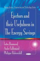 Cover image for Ejectors and their usefulness in the energy savings