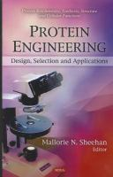 Cover image for Protein engineering : design, selection and applications
