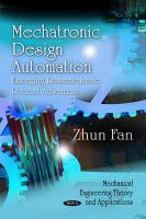 Cover image for Mechatronic design automation : emerging research and recent advances