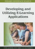 Cover image for Developing and utilizing E-learning applications