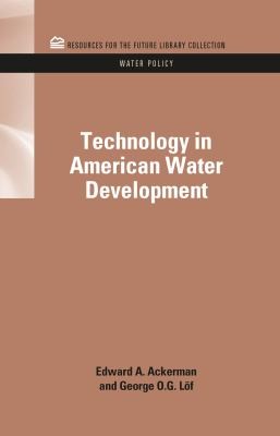 Cover image for Technology in American water development