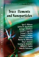 Cover image for Trace elements and nanoparticles