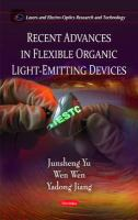 Cover image for Recent advances in flexible organic light-emitting devices