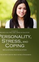 Cover image for Personality, stress, and coping : implications for education