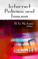 Cover image for Internet policies and issues.  Volume 12
