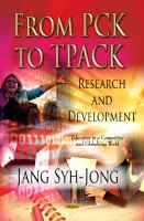 Cover image for From PCK to TPACK : research and development