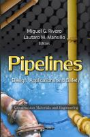 Cover image for Pipelines : design, applications, and safety