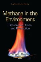 Cover image for Methane in the environment : occurrence, uses and production