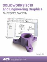 Cover image for SOLIDWORKS 2019 and engineering graphics