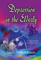 Cover image for DEPRESSION IN THE ELDERLY