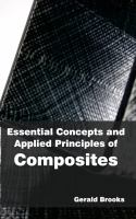 Cover image for Essential concepts and applied principles of composites