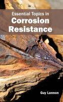 Cover image for Essential topics in corrosion resistance