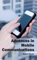 Cover image for Advances in mobile communications