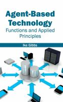 Cover image for Agent-based technology : functions and applied principles
