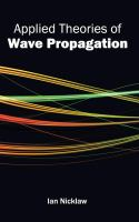 Cover image for Applied theories of wave propagation