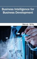 Cover image for Business intelligence for business development