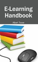 Cover image for E-learning handbook