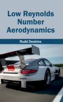 Cover image for Low Reynolds number aerodynamics