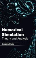 Cover image for Numerical simulation : theory and analysis
