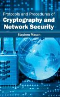 Cover image for Protocols and procedures of cryptography and network security