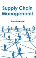 Cover image for Supply chain management