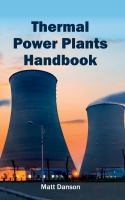 Cover image for Thermal power plants handbook