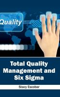Cover image for Total quality management and six sigma