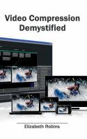 Cover image for Video compression demystified