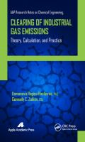 Cover image for Clearing of industrial gas emissions : theory, calculation, and practice