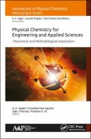 Cover image for Physical chemistry for engineering and applied sciences : theoretical and methodological implication
