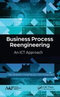 Cover image for BUSINESS PROCESS REENGINEERING : An ICT Approach