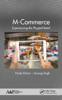 Cover image for M-COMMERCE : Experiencing the Phygital Retail