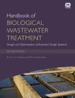 Cover image for Handbook of biological wastewater treatment : design and optimisation of activated sludge systems