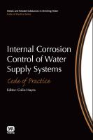 Cover image for Internal corrosion control of water supply systems : code of practice