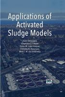 Cover image for Applications of activated sludge models