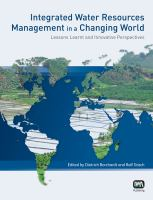 Cover image for Integrated water resources management in a changing world : lessons learnt and innovative perspectives