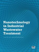 Cover image for Nanotechnology in industrial wastewater treatment