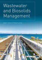 Cover image for Wastewater and Biosolids Management