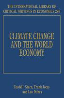Cover image for Climate change and the world economy